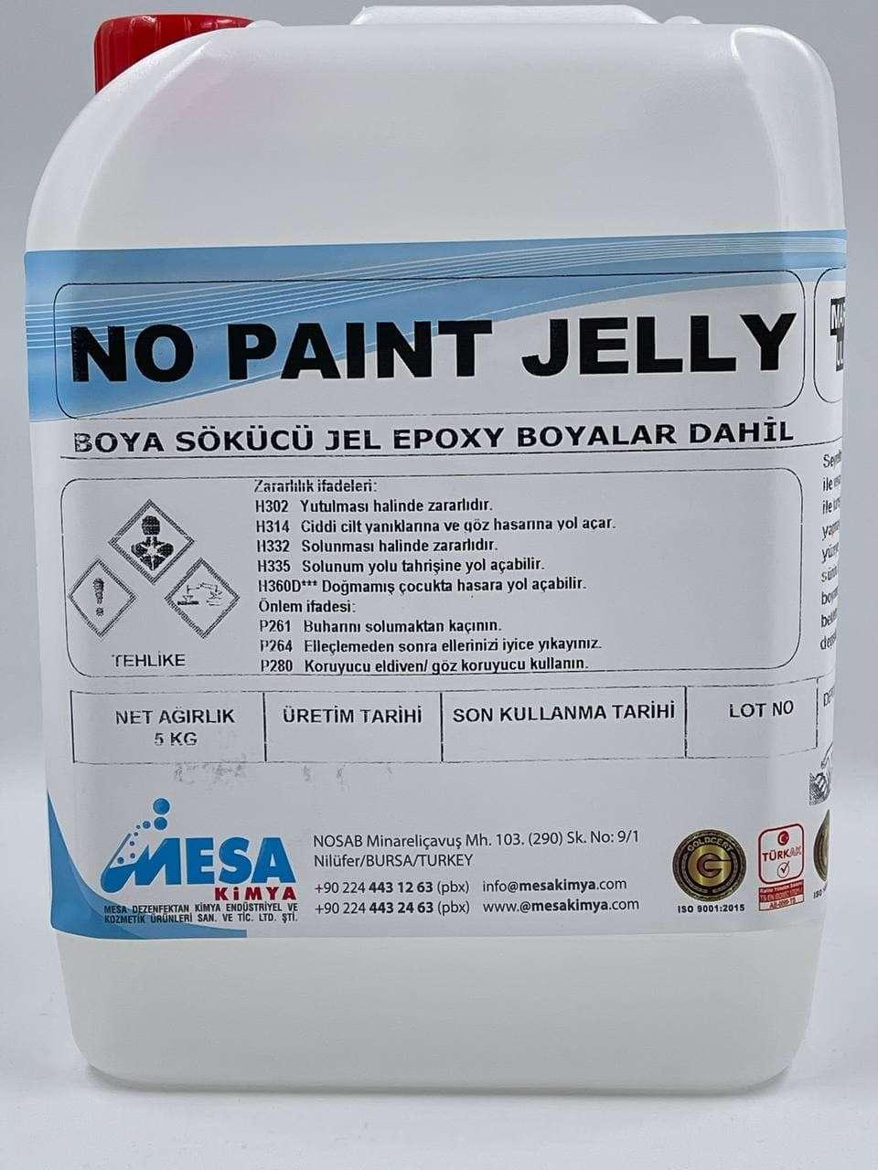 Boya sökücü jel no paint jelly 5 Kg