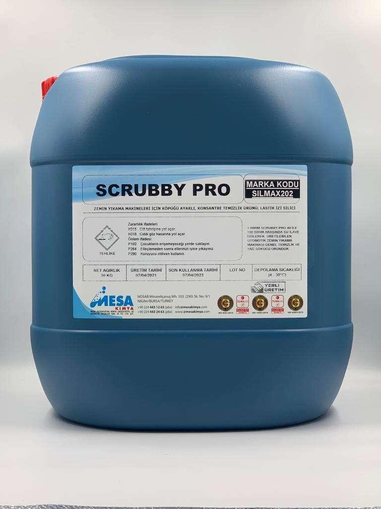 Zemin temizleme makinası deterjanı SCRUBBY-PRO 30 kg