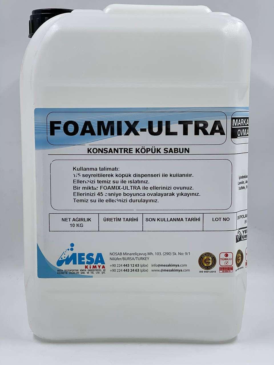 Foamix ultra konsantre köpük sabun