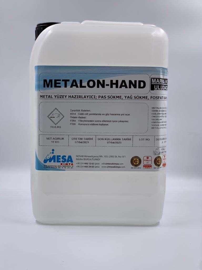 Soğuk demir fosfat pas sökücü metalon-hand 10 kg