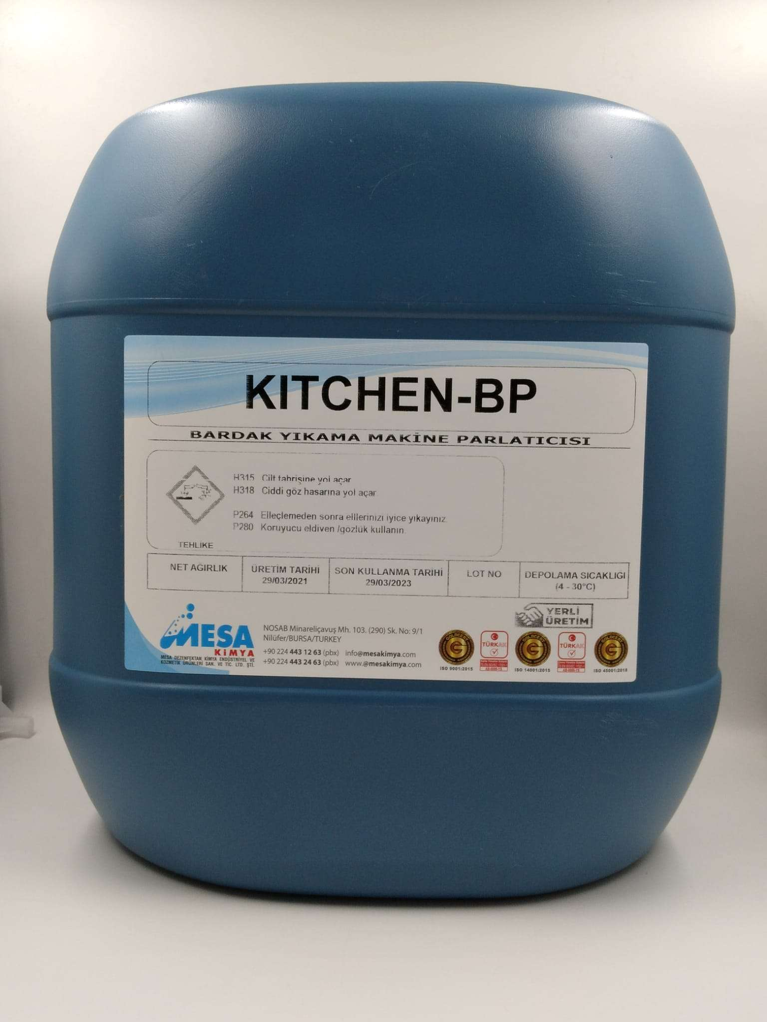 Bardak yıkama makine parlatıcı Kitchen-BP