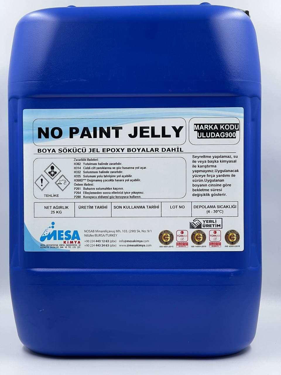 Boya sökücü jel no paint jelly 25 Kg