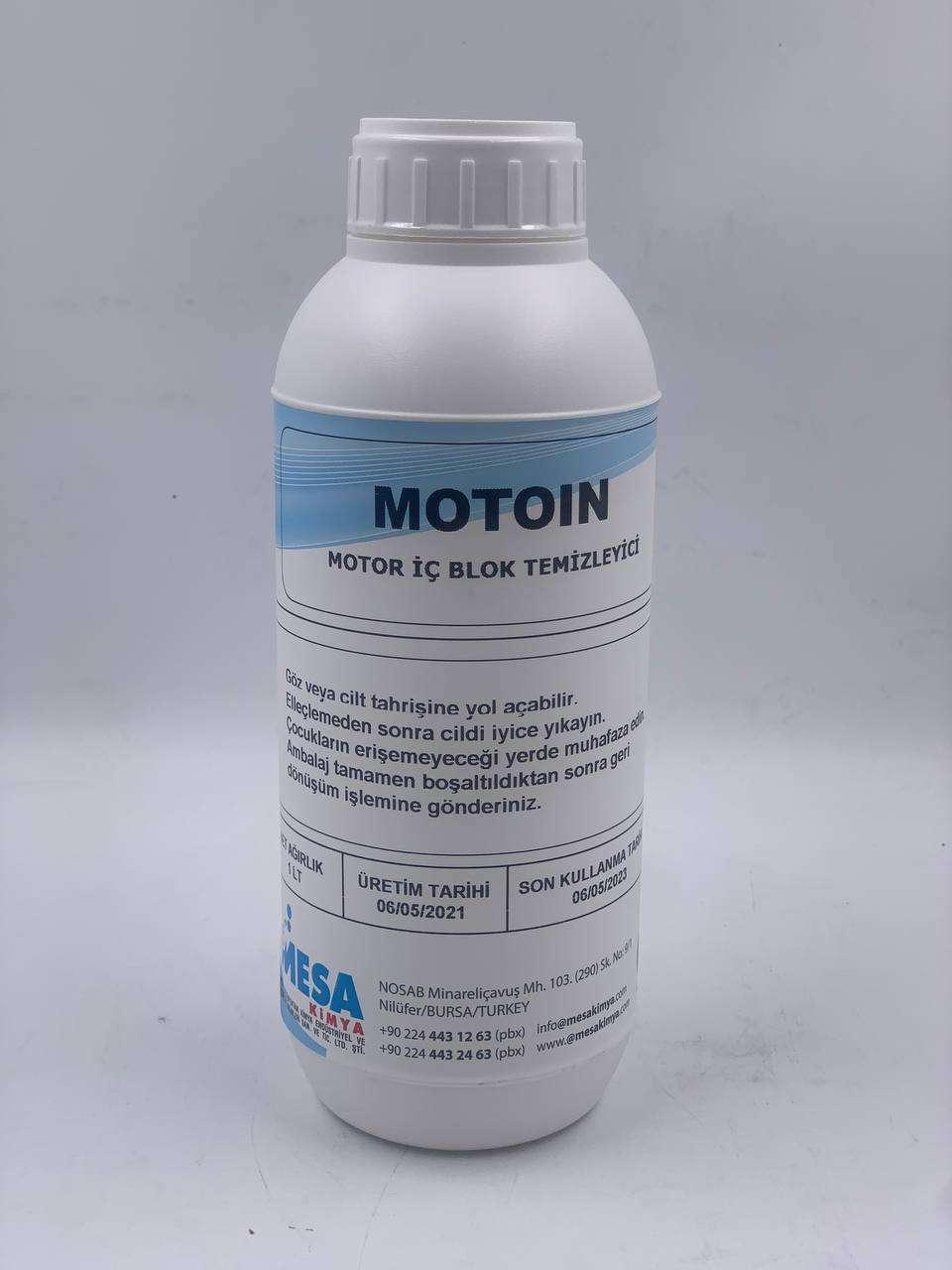 Motor temizleme MotoiN motor içi temizleme