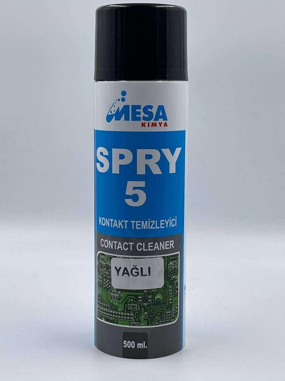 kontak temizleyici sprey yağlı spry5 500 ml fiyatları