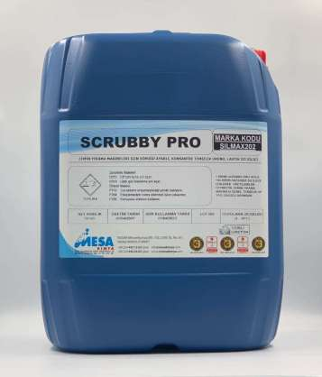 Yer temizleme makinesi deterjanı Scrubby pro 20 kg