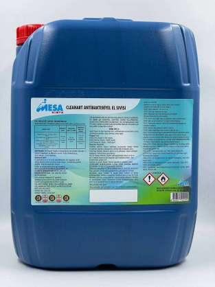 Cleanart antibakteriyel el sıvısı 20 lt