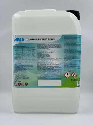 Cleanart antibakteriyel el sıvısı 10 lt