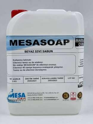 Mesasoap beyaz sıvı sabun
