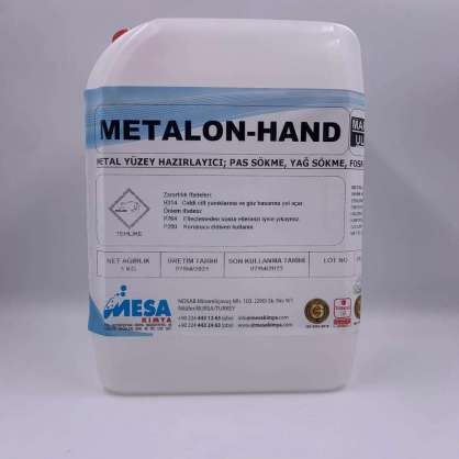 Metal yüzey fosfatlama metalon-hand 5 kg